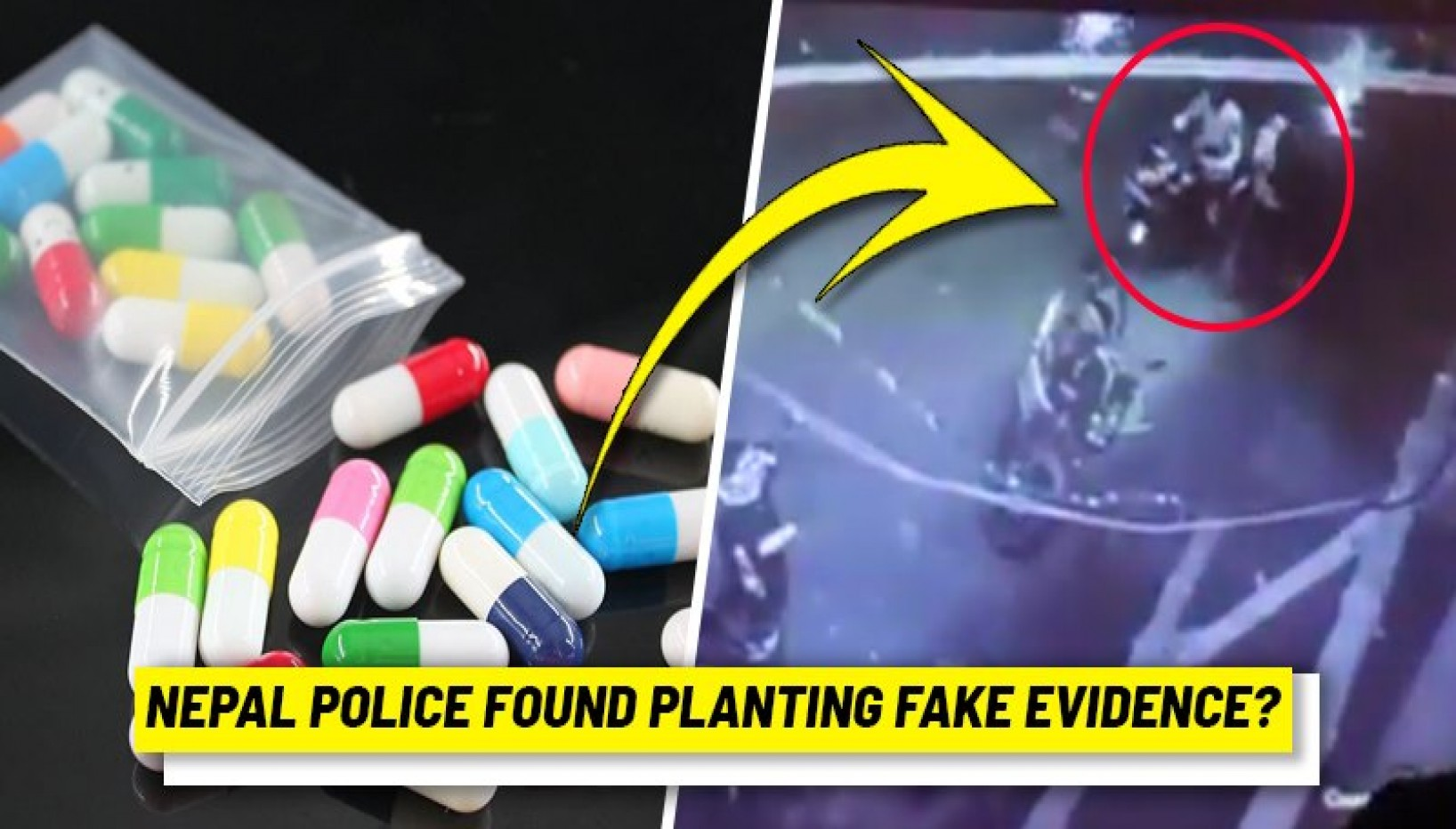 Rautahat Police Caught Red-Handed Planting Drugs On Journalist's Motorbike — Whom Do We Trust Now?