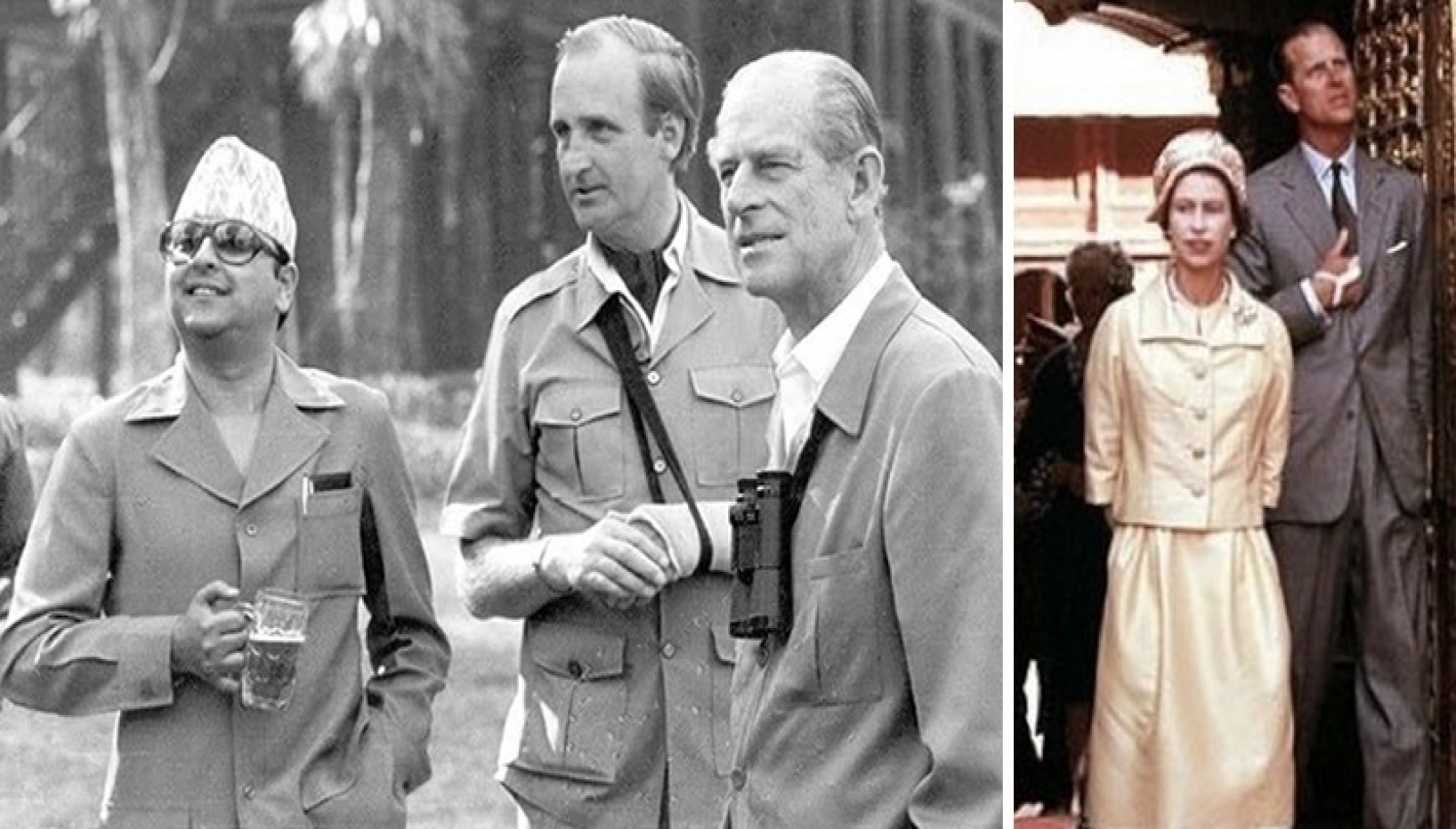 Remembering Prince Philip's Two Visits To Nepal
