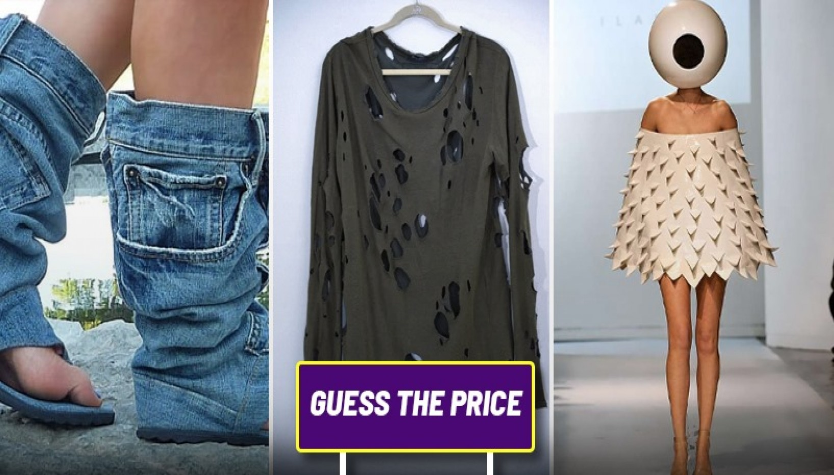 QUIZ: Guess The Price Of These Name Brand Clothes That Look Straight Out Of The Dumpster
