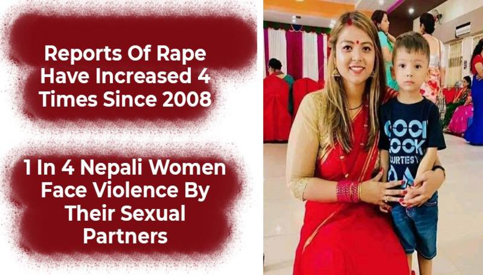 Sabita Bhandari Isn't The Only One. Here Are 8 Statistics That Highlight The Prevalence Of Violence Against Women