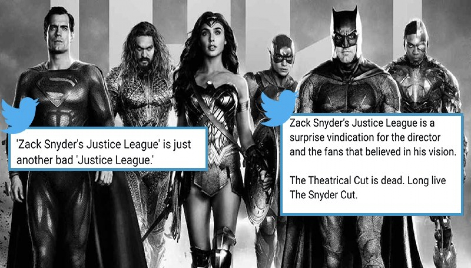Snyder's Justice League Release This Week; Here Are A Few Tweets To Help You Decide If You Should Watch The 4-Hour Long Movie