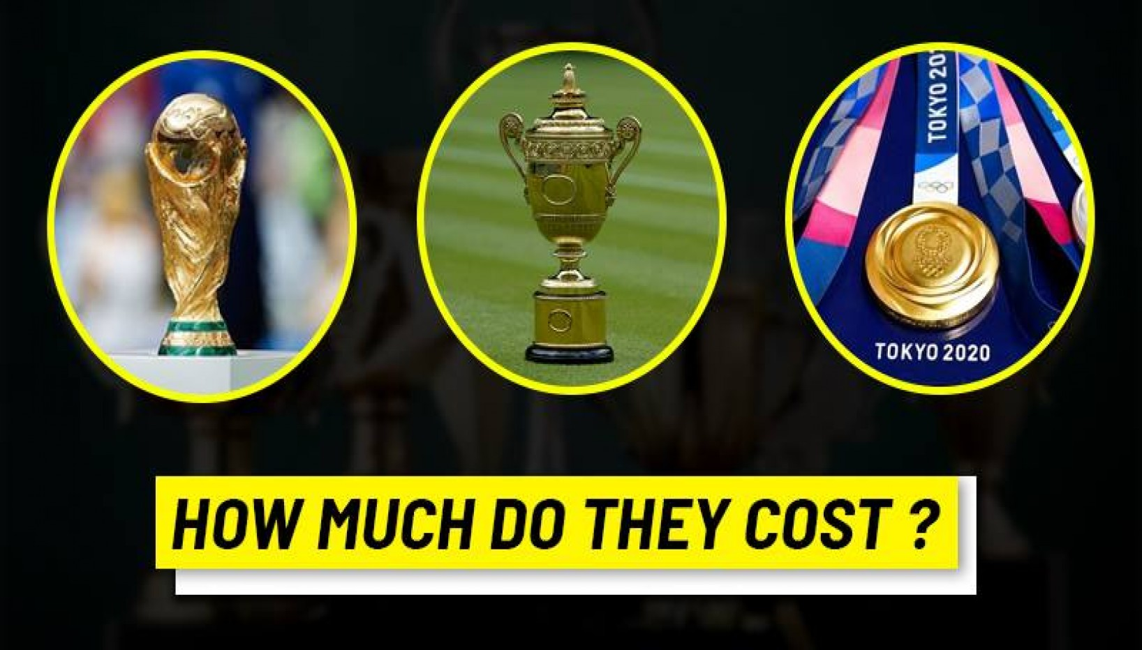 Here's How Much It Costs To Manufacture The Winning Prizes Of These Major Sporting Events