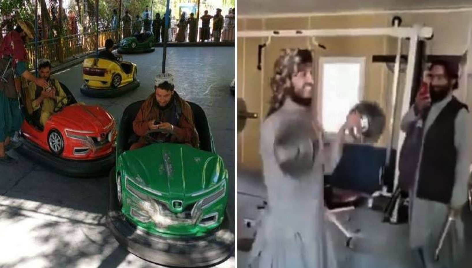 Talibans Show Their Softer Sides At Amusement Park And Gyms After Taking Over Afghanistan