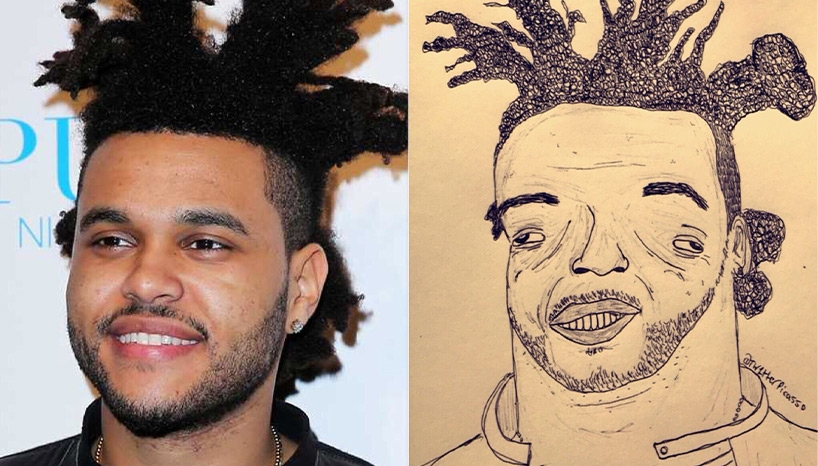 The Weeknd's Hilarious Fan Art Gives Birth To A New Trend