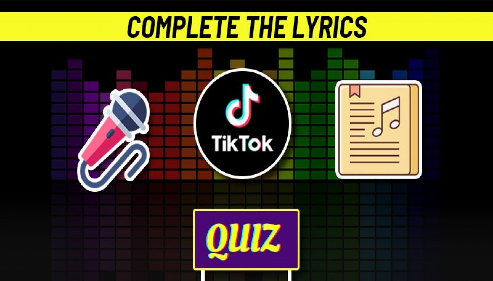 QUIZ: You're Spending Too Much Time On Tiktok If You Can Complete These Lyrics