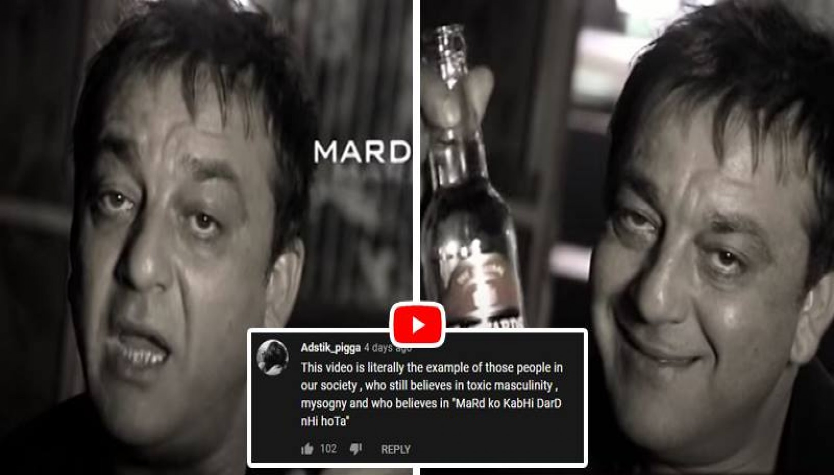 Sanjay Dutt's Old Ad About 'Manliness' Resurfaces And We Can't Help But Cringe At The Toxic Masculinity