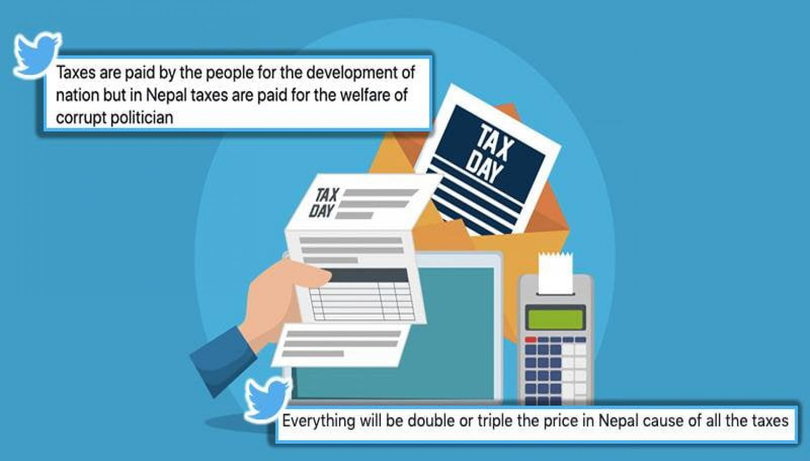 Tweets About Taxes In Nepal That Will Make You Question The Government