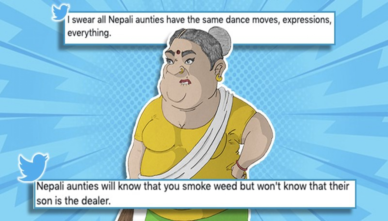 Twitter Has Had Enough Of Nepali Aunties; Here Are A Few Complaints
