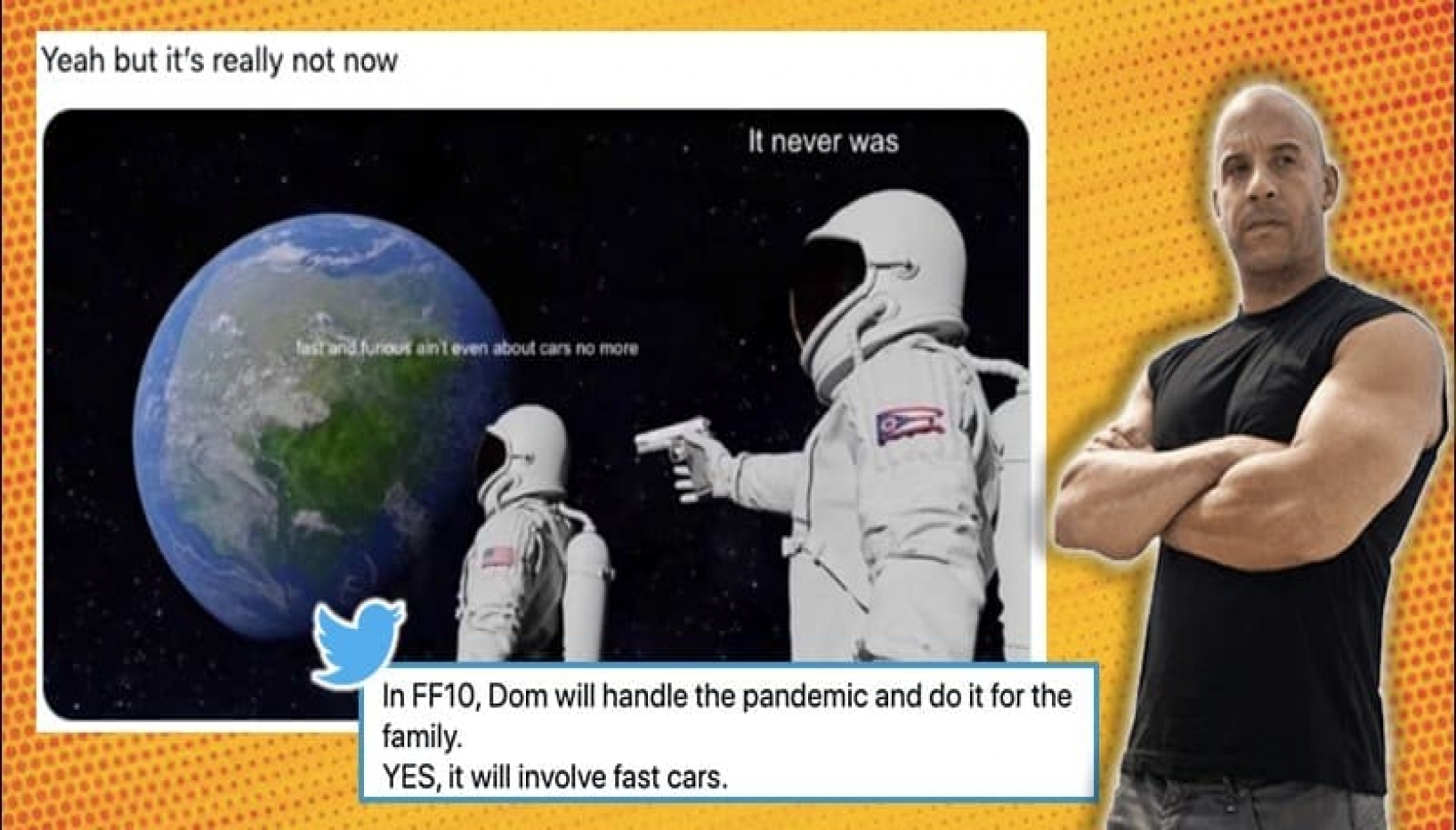 Twitter Reacts With Memes Over Fast & Furious Trailer Starring John Cena