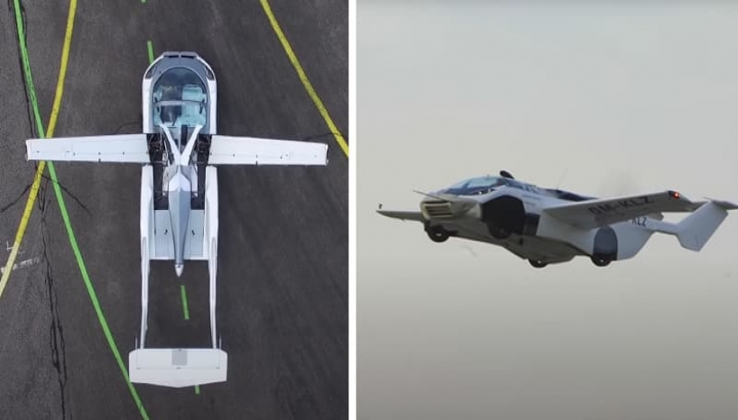 Watch: This Car Transform Into A Plane And Take Its Maiden Flight