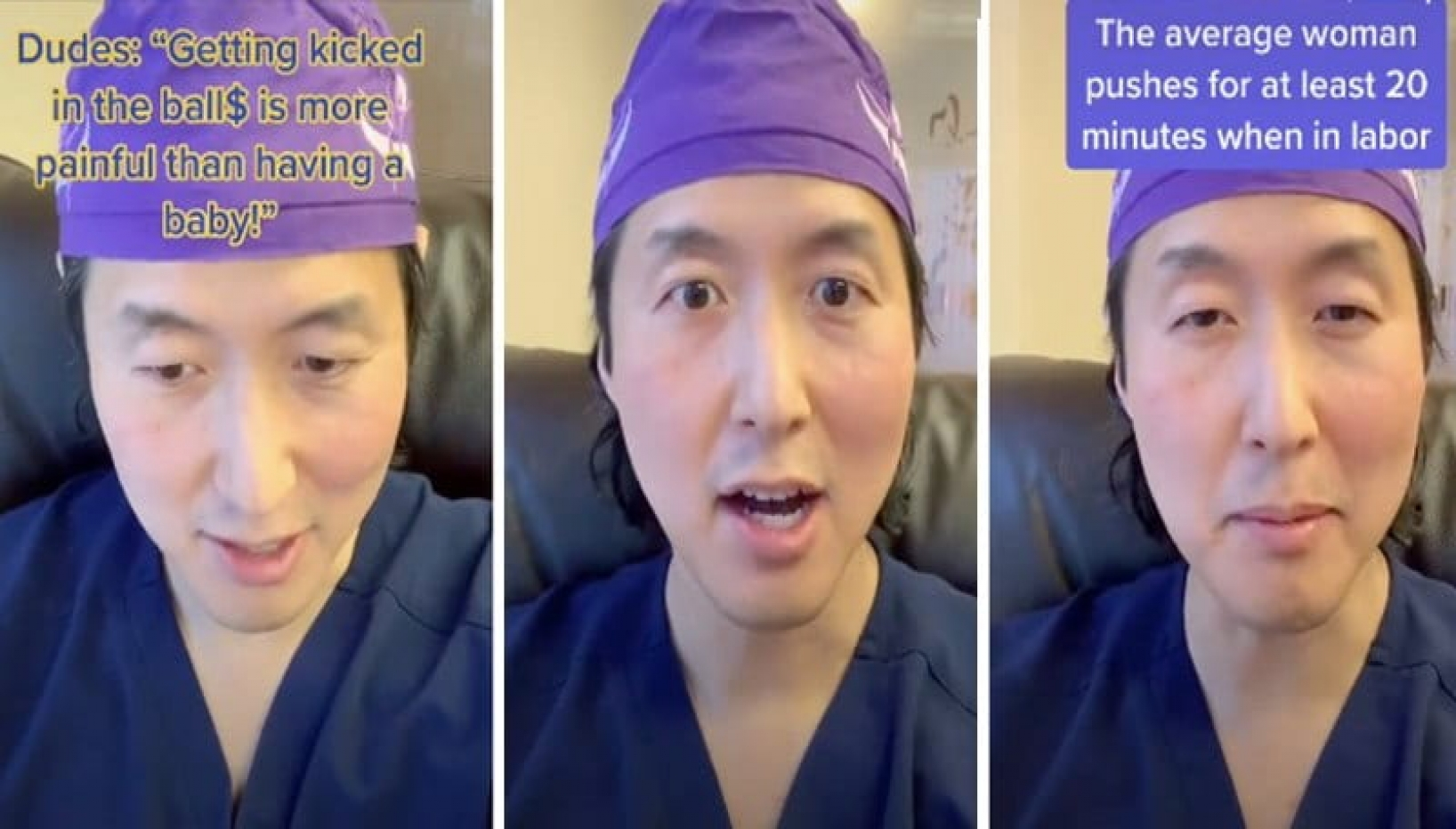 What Hurts More: Giving Birth Or Getting Kicked In The Balls? Doctor Answers The Age Old Question On TikTok