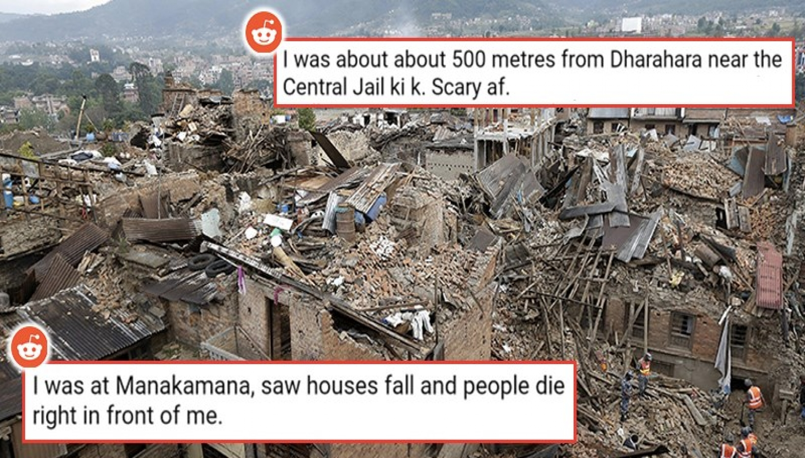What Were They Doing During The 2015 Earthquake? Nepali Redditors Share Their Earthquake Stories