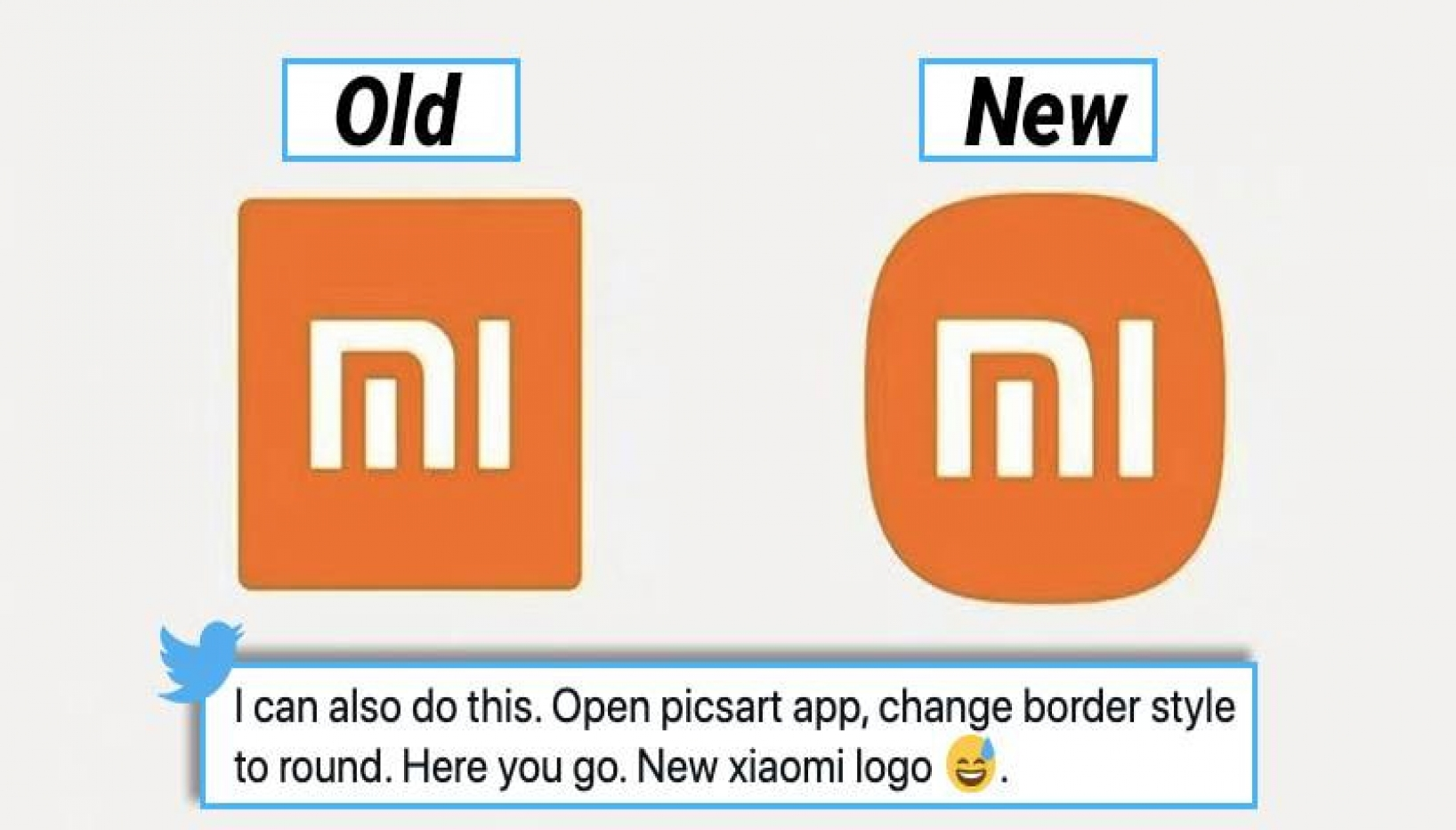Xiaomi Spends 3 Years Making A New Logo; Netizens Can't Spot The Difference.