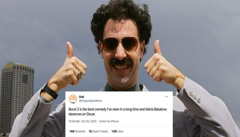 You Need To Check Out These Tweets If You Haven't Watched Borat 2