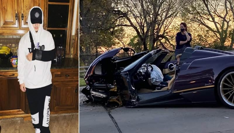 Youtuber Crashes Father's Expensive Sports Car While Filming A Video